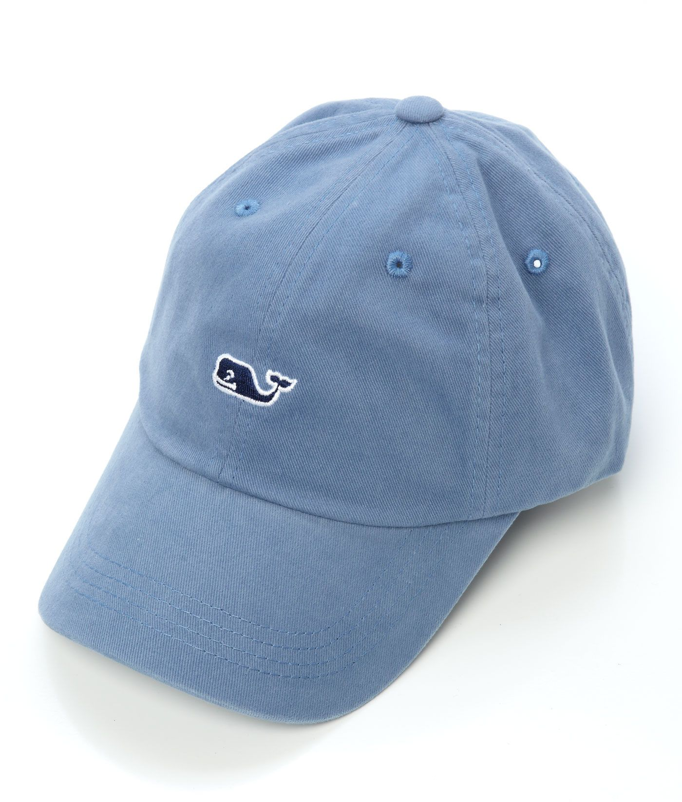 2d672894a30 AQUA BLUE............Shop Signature Whale Logo Baseball Hat at vineyard  vines