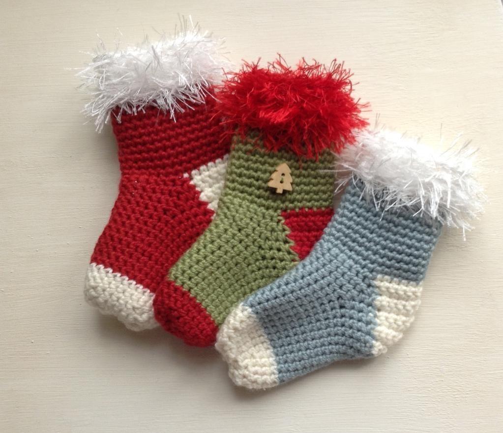 Mini Christmas Stocking | De la navidad, Navidad y Ganchillo
