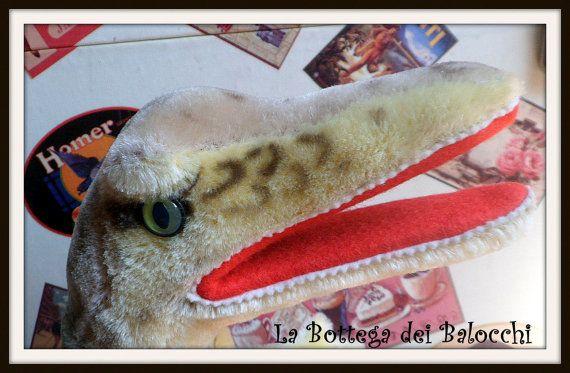Steiff Gaty buffa marionetta vintage  a di Labottegadeibalocchi