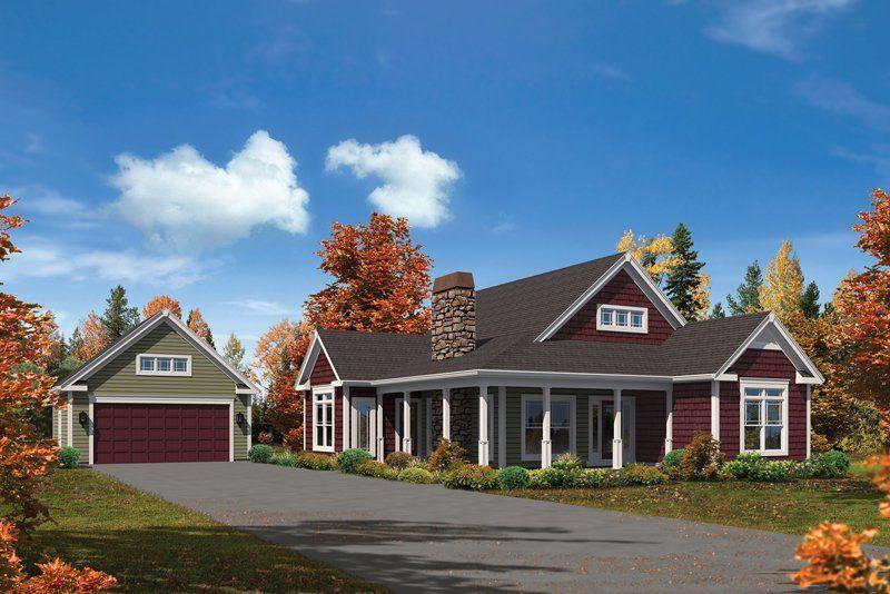 Paige Cabin & Lodge House Plan - #ALP-09M5 - Chatham Design Group House Plans