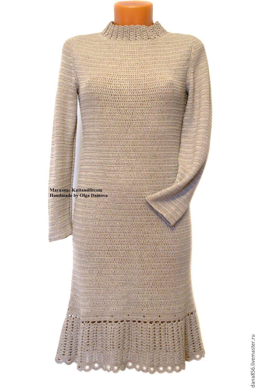 d15377486f9 Платье вязаное. Платье крючком.