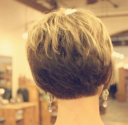 Back View Of Cute Short Haircuts For Women Hairstyles 2017 Most Por
