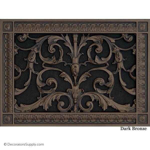 French Inspired Decorative Hvac Vent Covers Include Designer Finishes In 2020 Vent Covers Decorative Grilles Decorative Vent Cover