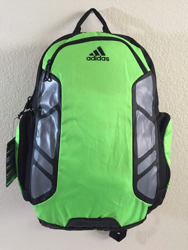 14fa031d53a4 ADIDAS Climacool Speed Backpack Unisex Black Green Grey 19