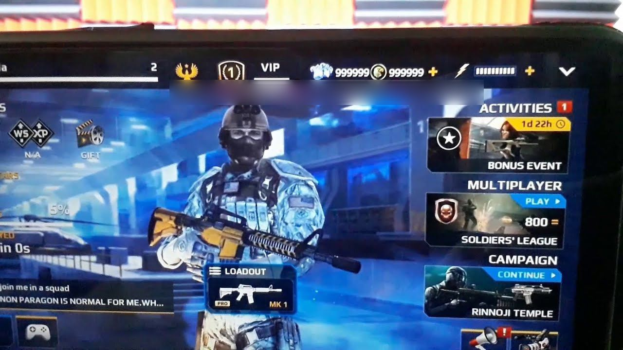 Unlimited Credits And Vip On Modern Combat 5 App Hack Real 2018 Updated Version Modern Combat 5 Hack And Cheats Modern Combat 5 Tool Hacks Combat Cheating