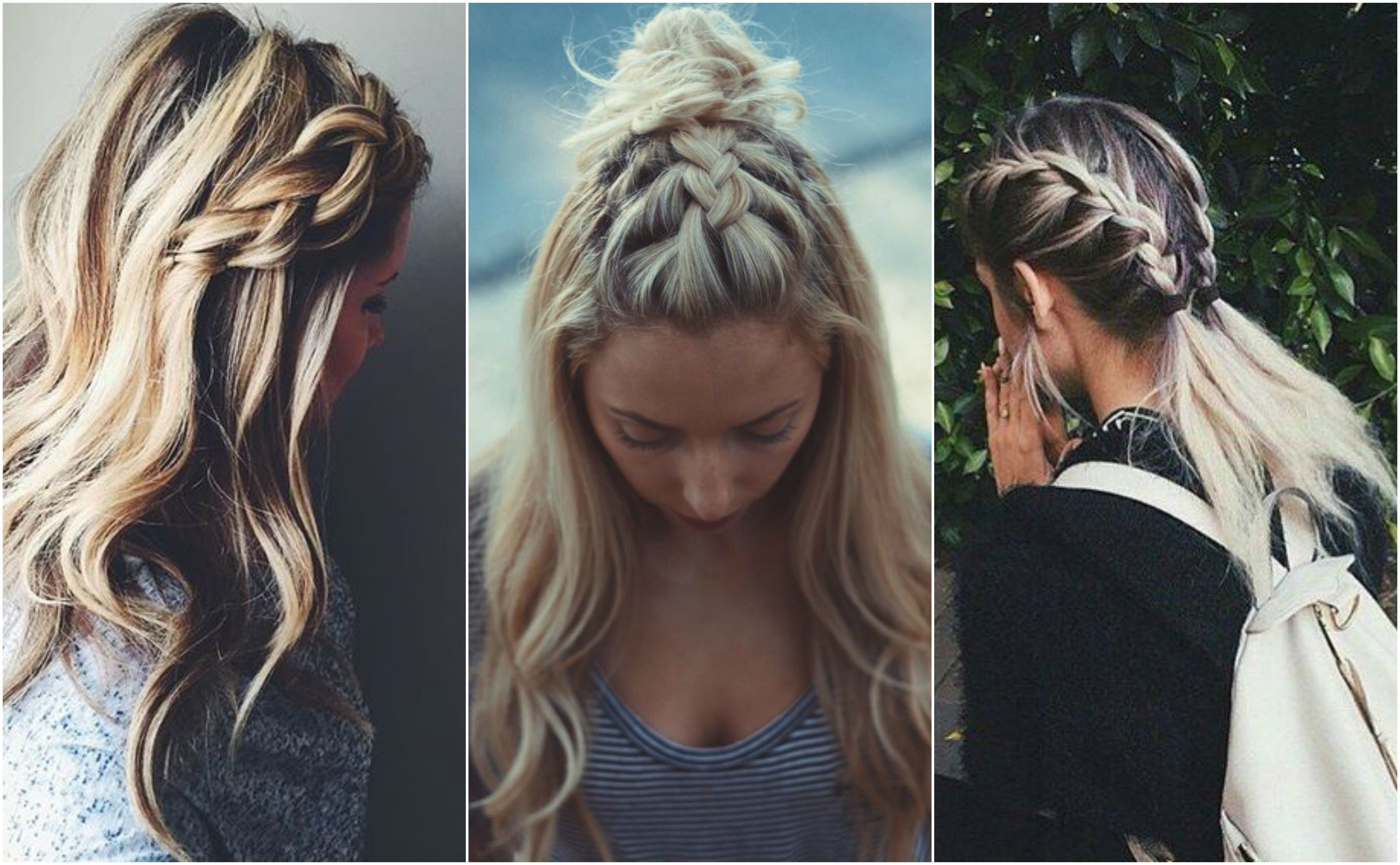 Statement Braids That Work On A Bad Hair Day Bad Hair Hair Day Short Hair Styles Easy