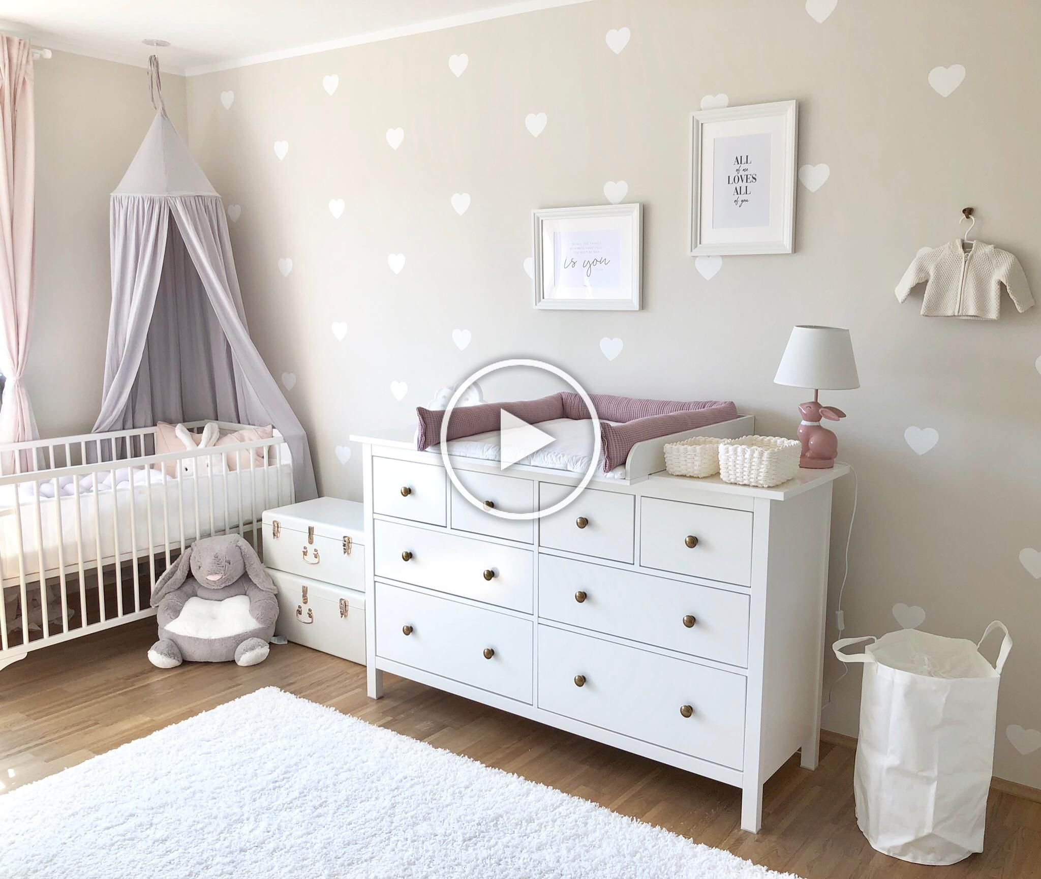 Babyzimmer Dekoration Babyroom Kinderzimmer Madchenzimmer