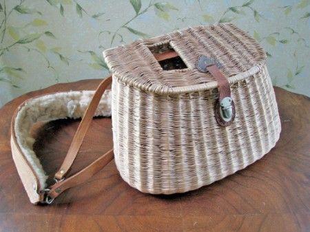 9f3ad07918c Fishing Basket...reminds me of