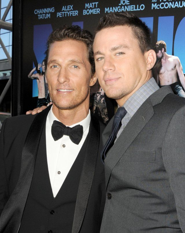 24 June 2012 Photo by Kevin Winter – © 2012 Getty Images – Image courtesy gettyimages.com Titles: Magic Mike Names: Matthew McConaughey, Channing Tatum