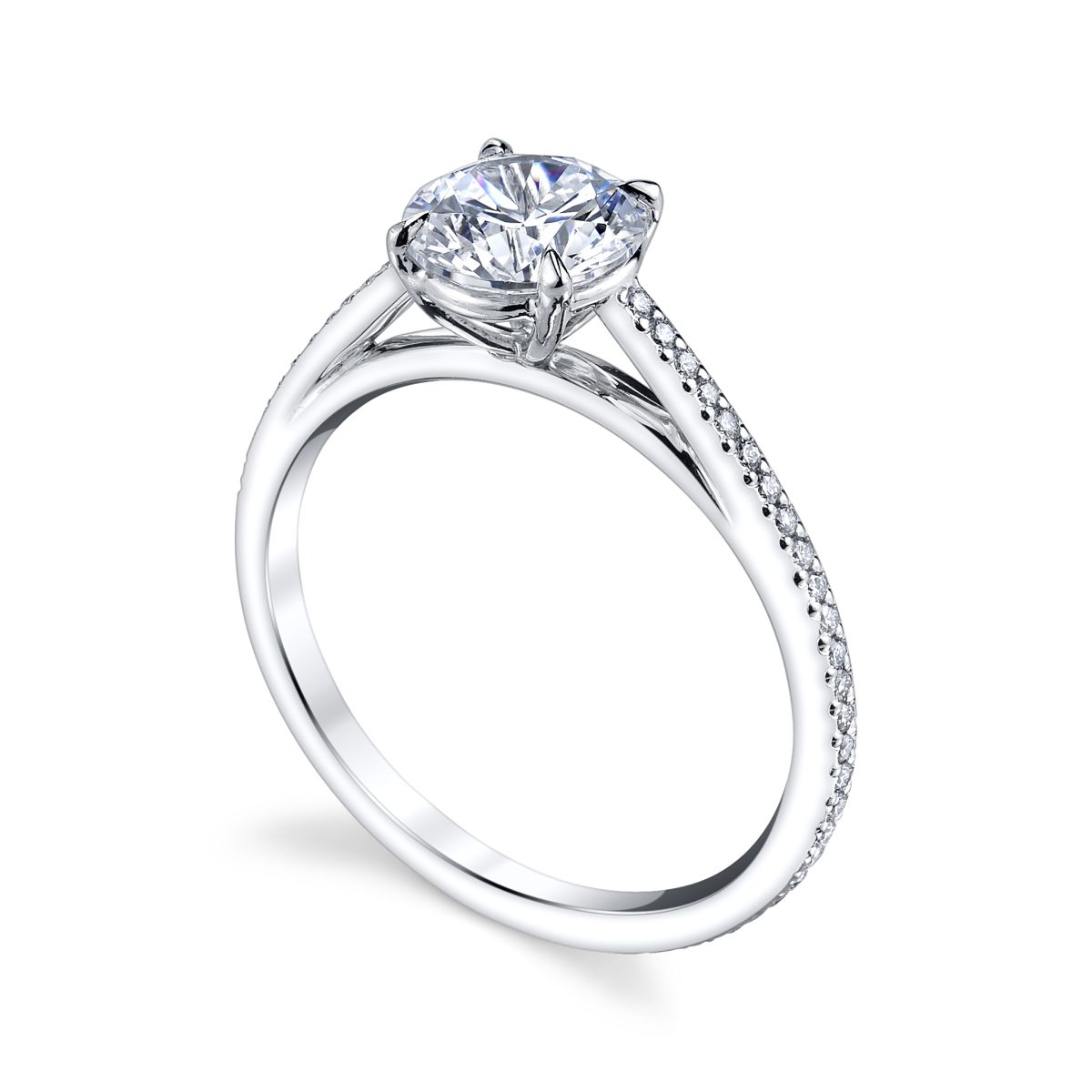 Chicago Bridal Marshall Pierce Company Michael B Venice Engagement Ring With Micropave Stunning Engagement Ring Engagement Rings Engagement Rings Chicago