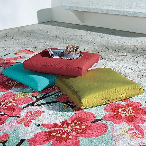 Outdoor Floor Pillow | Loft | Pinterest | Floor pillows, Pillows and ...