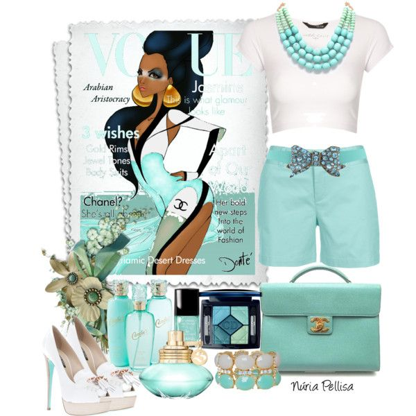 Shorts, created by nuria-pellisa-salvado on Polyvore