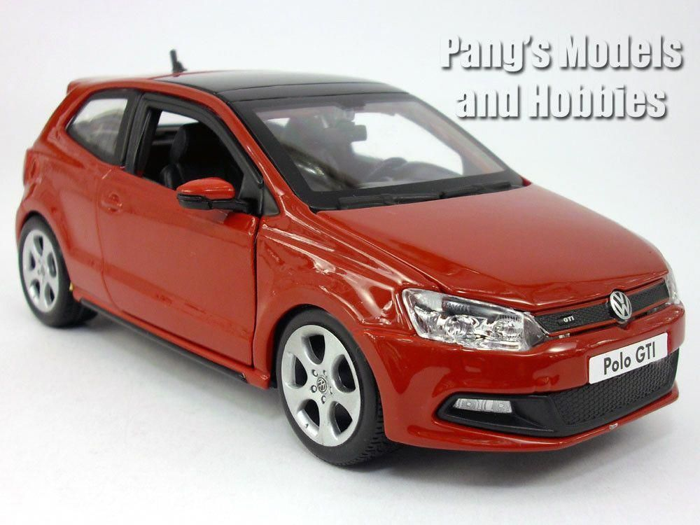 Volkswagen Vw Polo Gti Mark 5 Mk5 1 24 Scale Diecast Model By