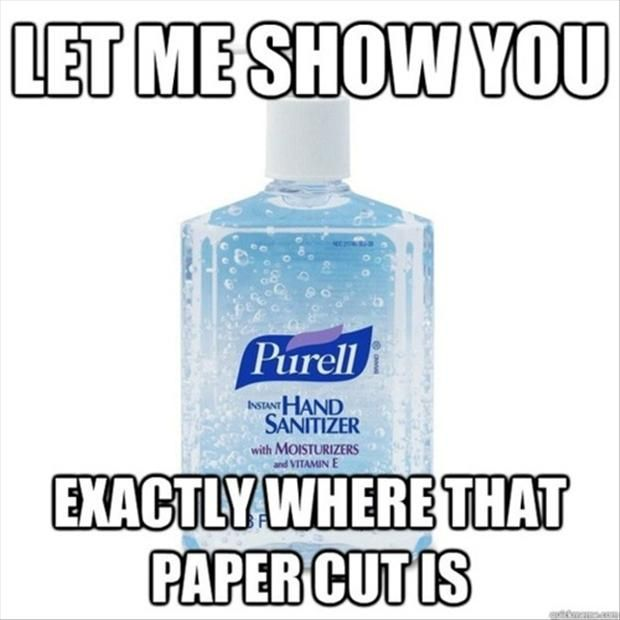 Works Every Time Funny Pictures Hand Sanitizer Lol