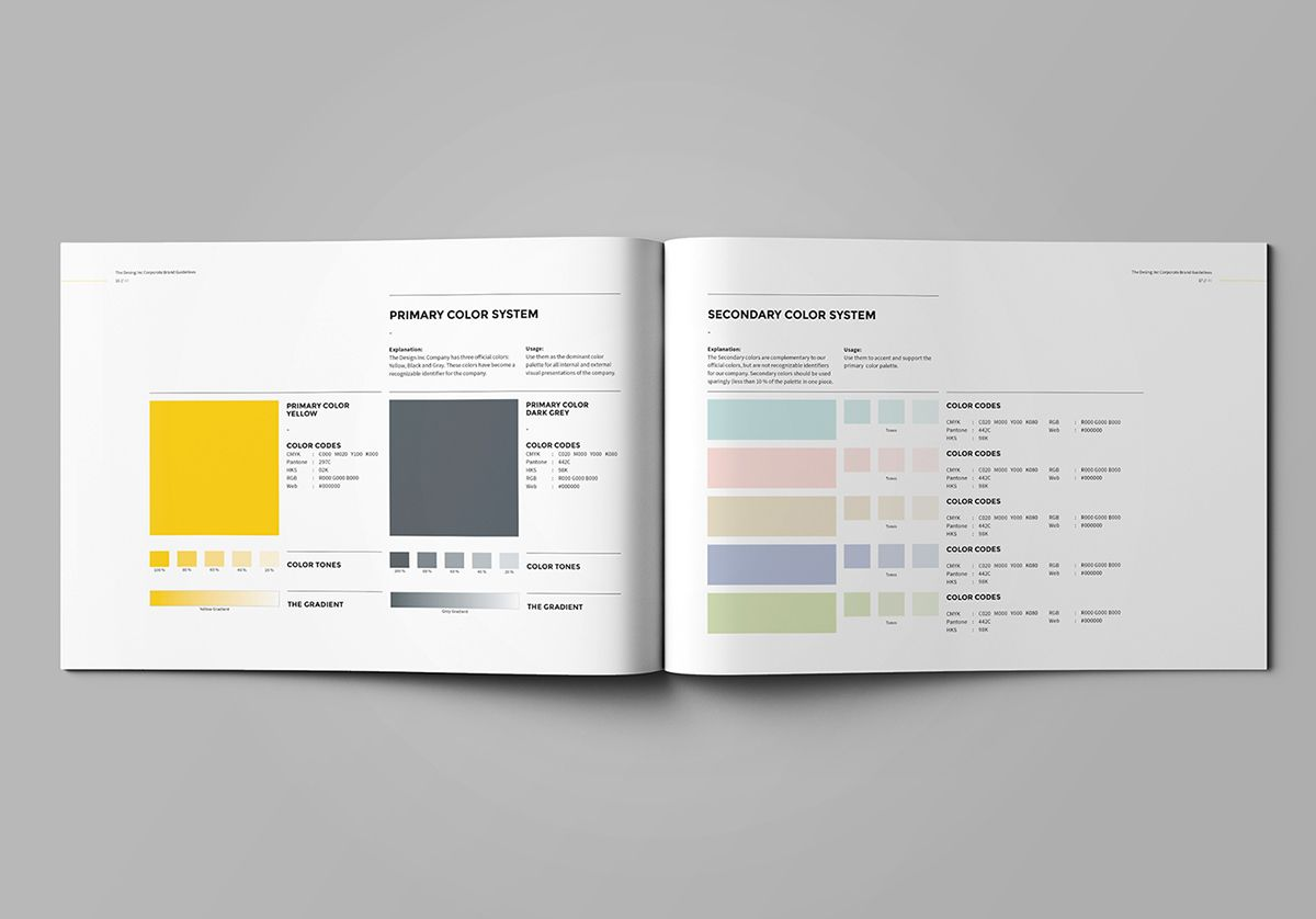 Brand Manual on Behance | Style Tiles | Pinterest | Editorial y Color