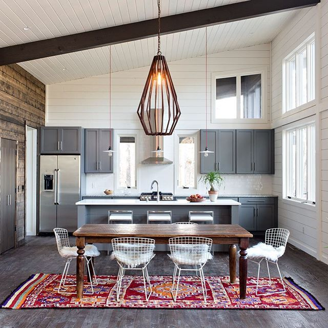 Kitchen Design · This Thoughtfully Designed Lakeside Retreat From  @appleseedworkshop Has Us Dreaming Of The Weekend. Take