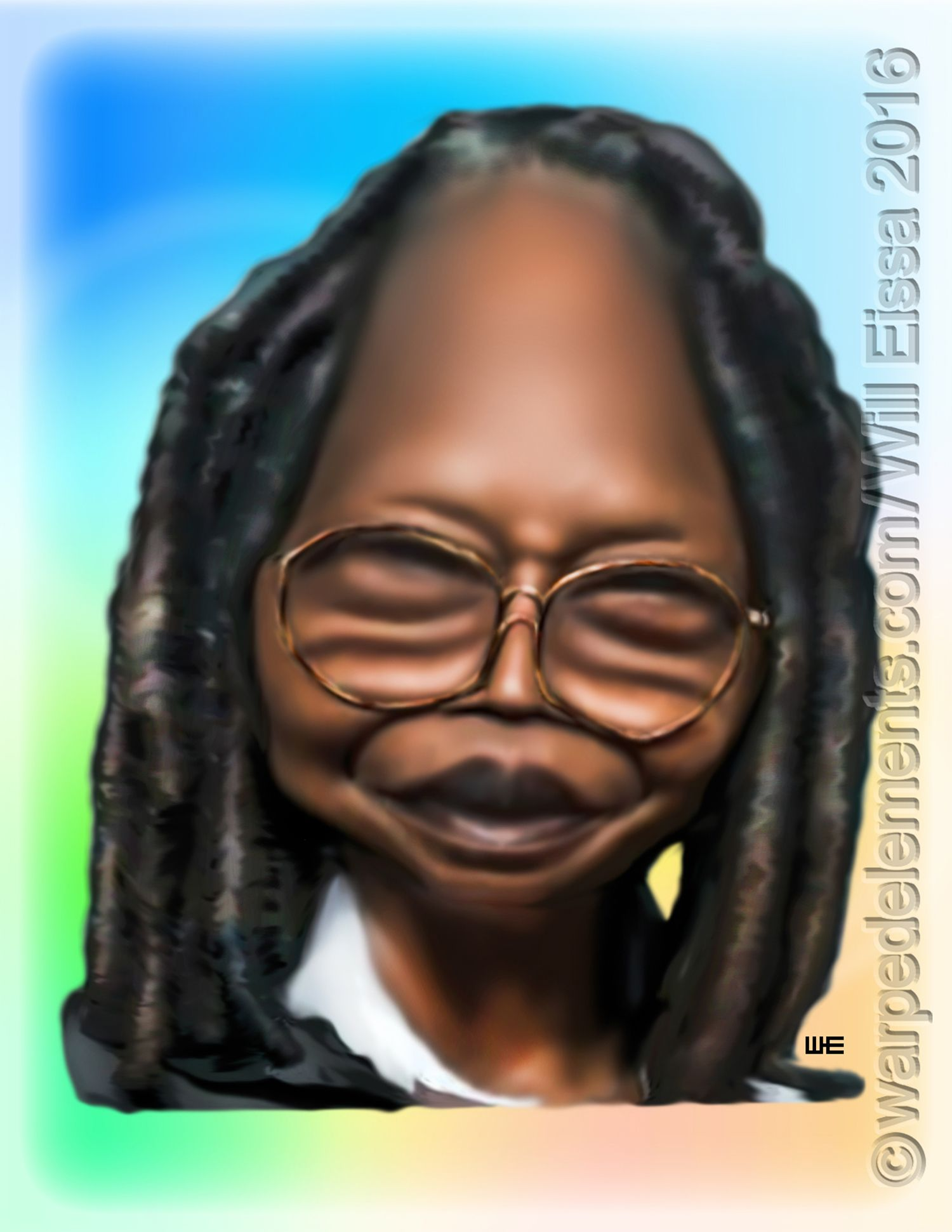 Whoopi Goldberg Celebrity Caricatures Caricature Celebrity Drawings