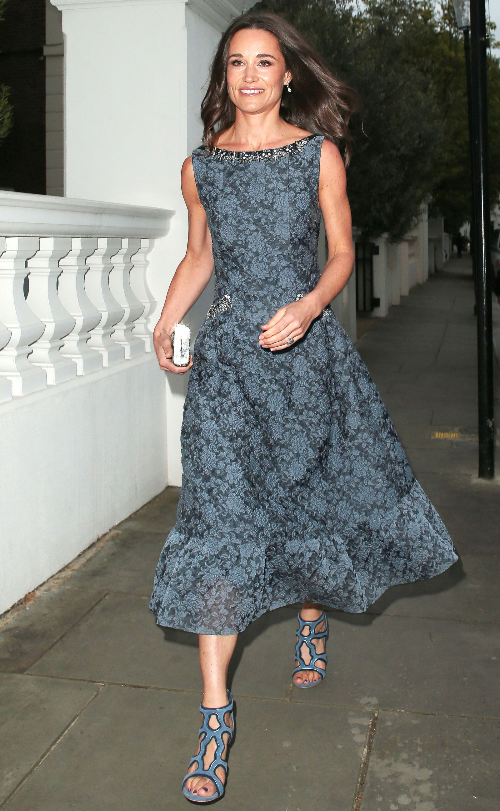 Pippa Middleton Wears Ladylike Erdem Ahead of Her May Wedding