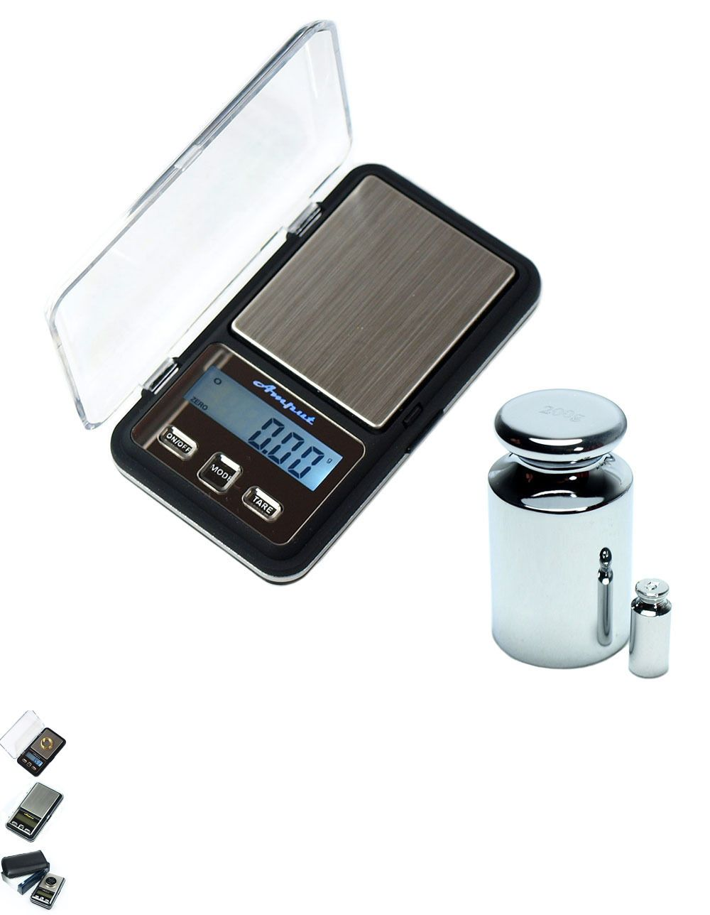Scale Calibration Weights >> Scales 34088 200g X 0 01g Digital Scale Aptp 453 Mini Precision