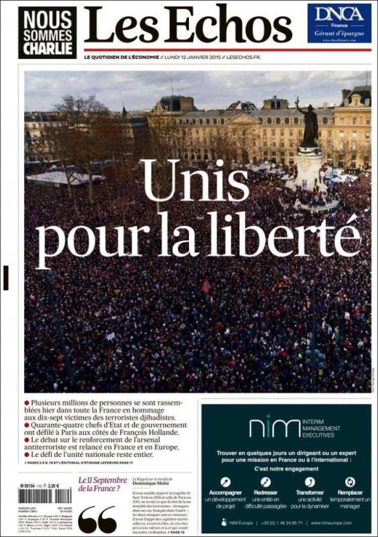 Les Echos (France) (avec images) La presse française