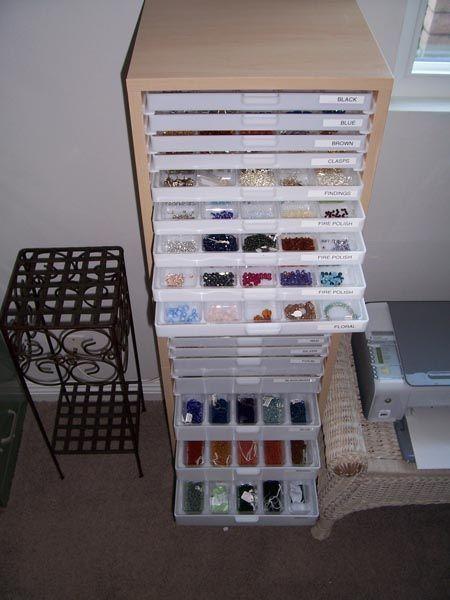 scrapbooking organization furniture Best Craft Organizer