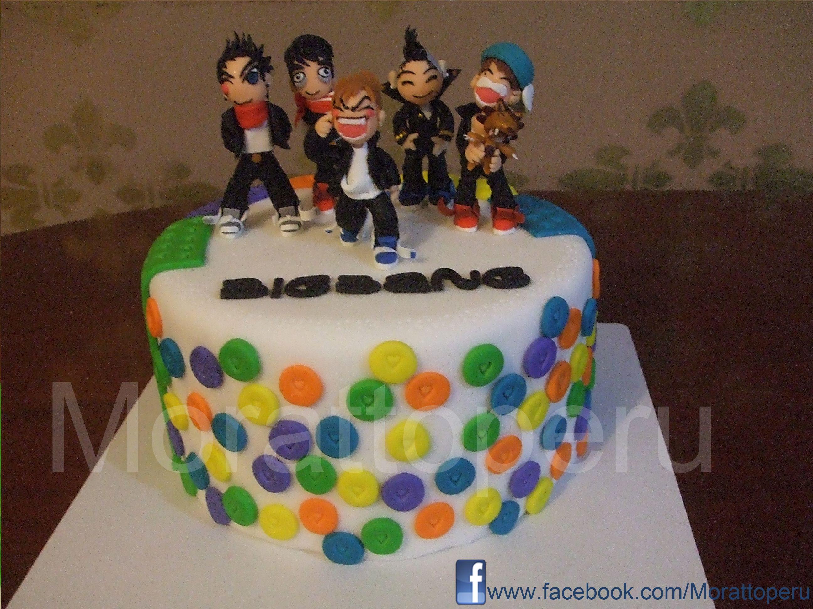 Big Bang Cake K Pop