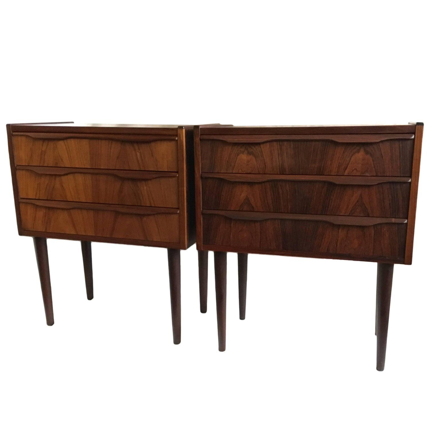 5e477401aa10 Pair of Midcentury Danish Nightstands Nightstands
