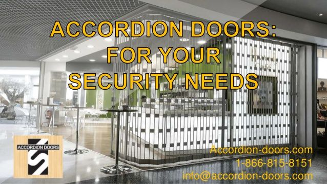 Accordion Doors 1 866 815 8151 Infoaccordion Doors