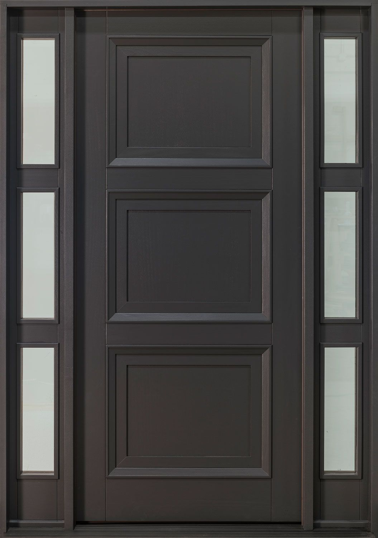 Custom Front Door Classic Collection Single With 2 Sidelites Gd 010pw 2sl Cst In 2020 Custom Front Doors Custom Entry Doors Solid Wood Entry Doors