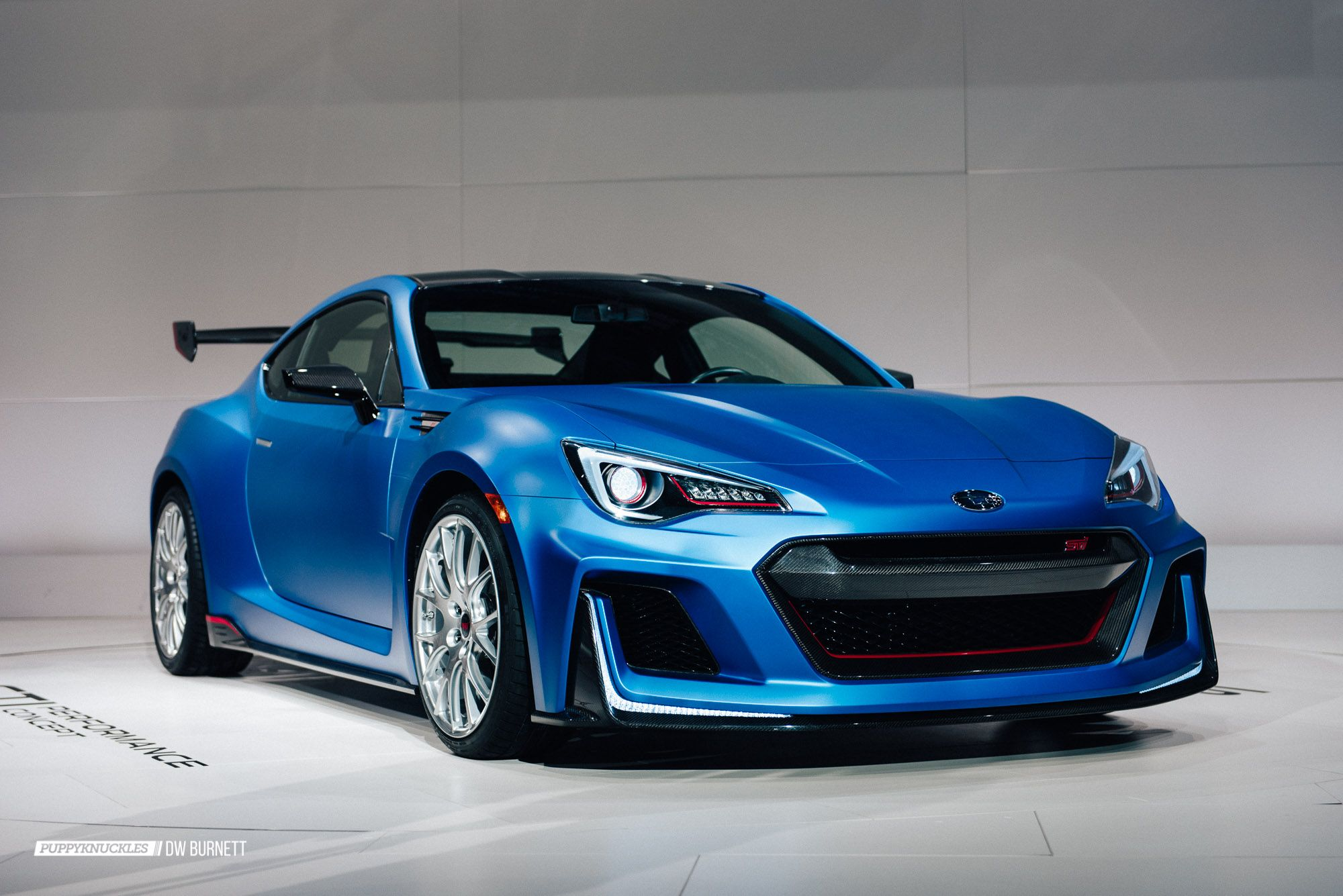 The Subaru Brz Sti Performance Concept Is A Little Monster Puppyknuckles Subaru Brz Sti Subaru Brz Subaru