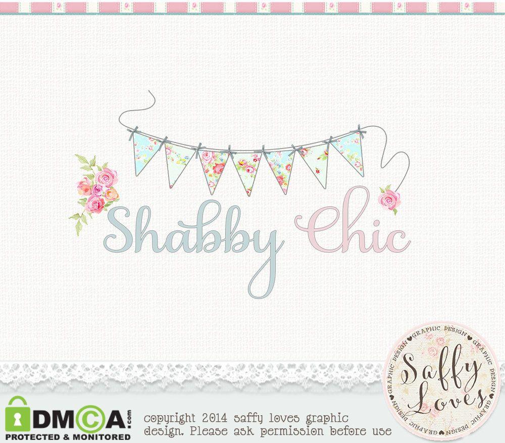 Shabby Chic Premade Premium Business Logo Design 45 By Saffyloves 15 00