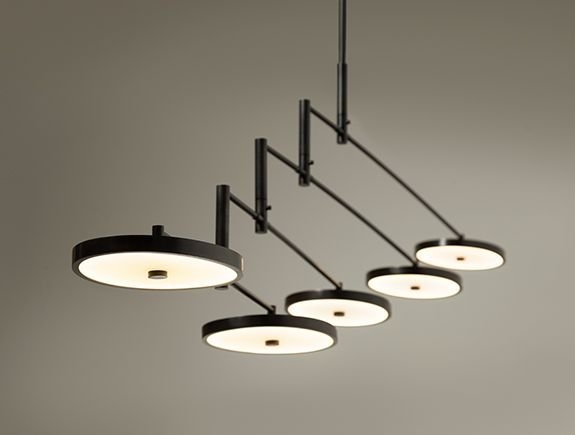 Helios Chandelier HOLLY HUNT | Light | Pinterest - Lampen