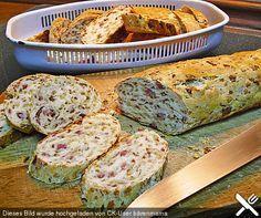 Zwiebel-Käse-Schinken-Brot von angelika2603 | Chefkoch #foodporn