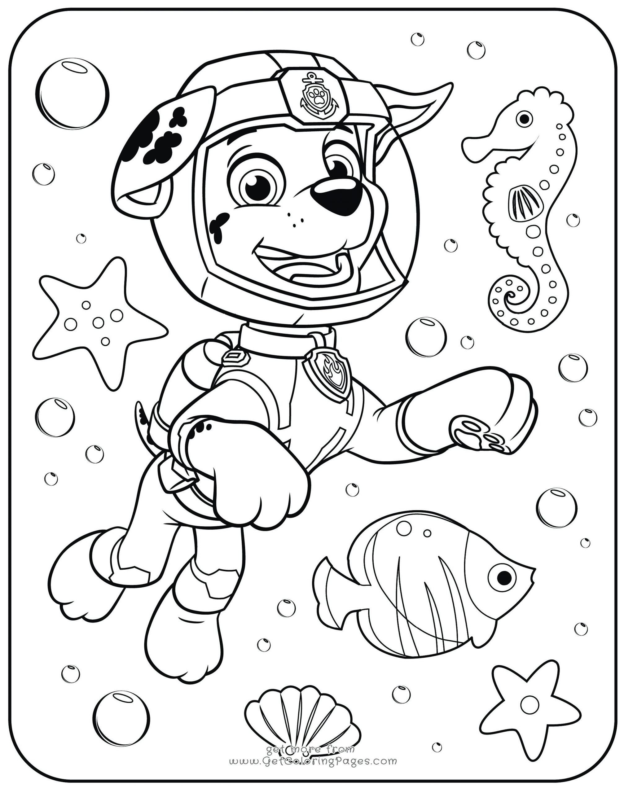 Paw Patrol Ausmalbilder Coloring Page for Kids Coloringge for Kids