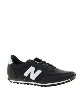 34a28064a56 New Balance 410 Black Trainers (470