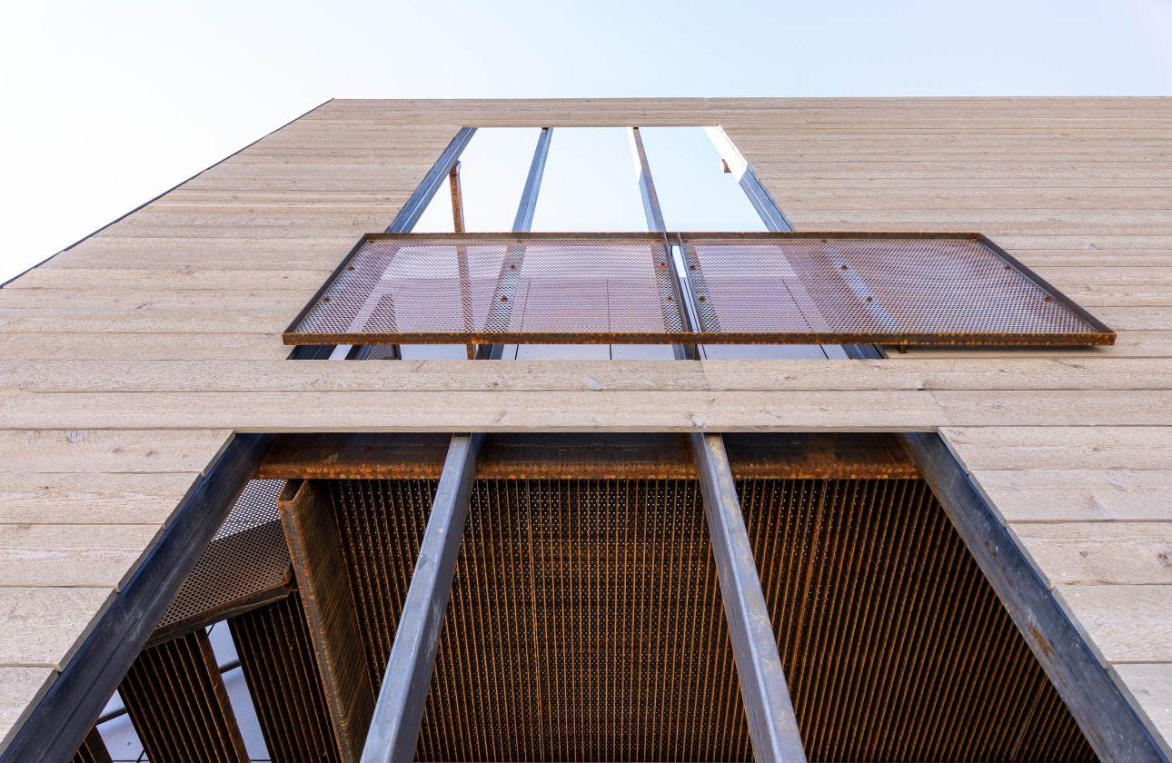 Aquafir Siding On A Commercial Building Exterior Siding Cedar Siding Building
