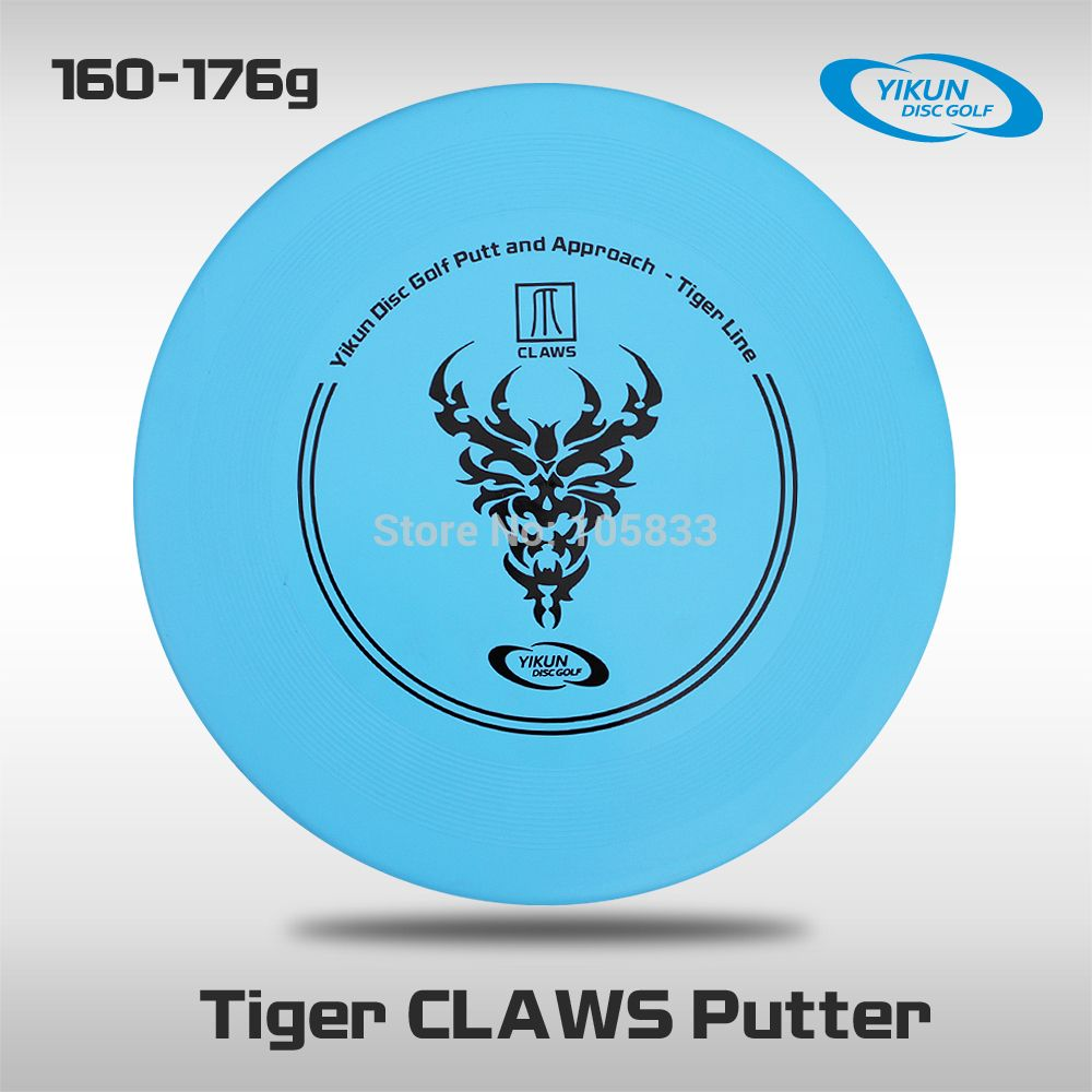 Professional Yikun Disc Golf Putter Tiger Line Claws Free Shipping PDGA Approval