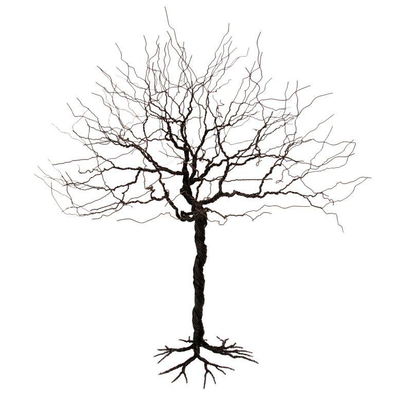 Wire Tree Sculpture | house | Pinterest | Metall, Draht und Baum