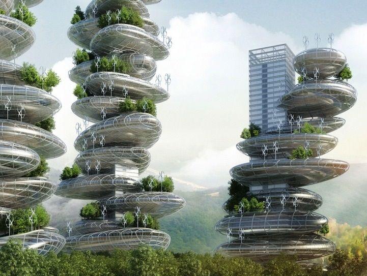 Image result for Future Architecture by Alex Ruiz Art