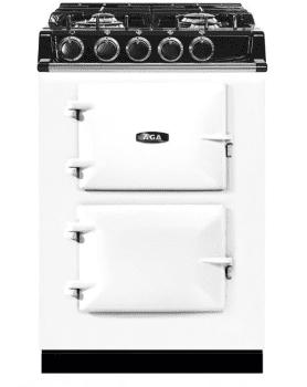 Aga City 24 24 Freestanding Dual Fuel Range White Atc2dfwht Aga Range Aga Aga Stove