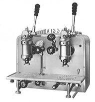 Early Gaggia Espresso machine (1946)   Collage 2   Pinterest ...