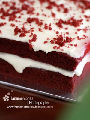Hana S Family Kek Red Velvet Moist