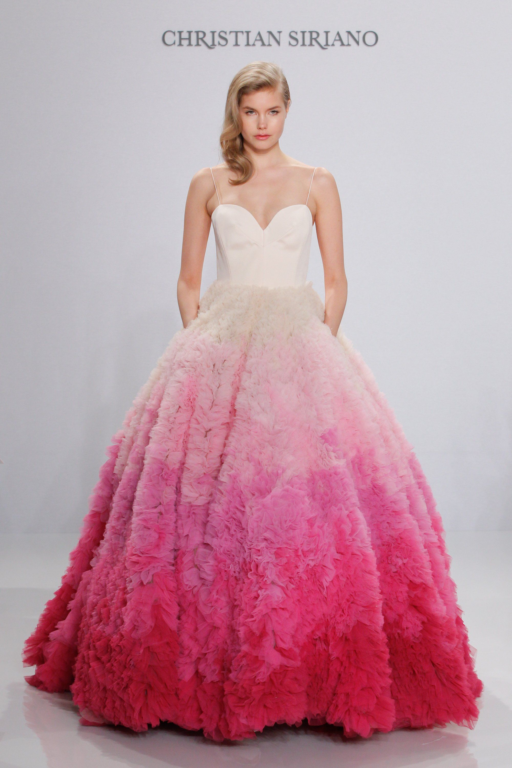 Used wedding dresses in michigan  Christian Siriano Bridal SpringSummer   Photos Photo