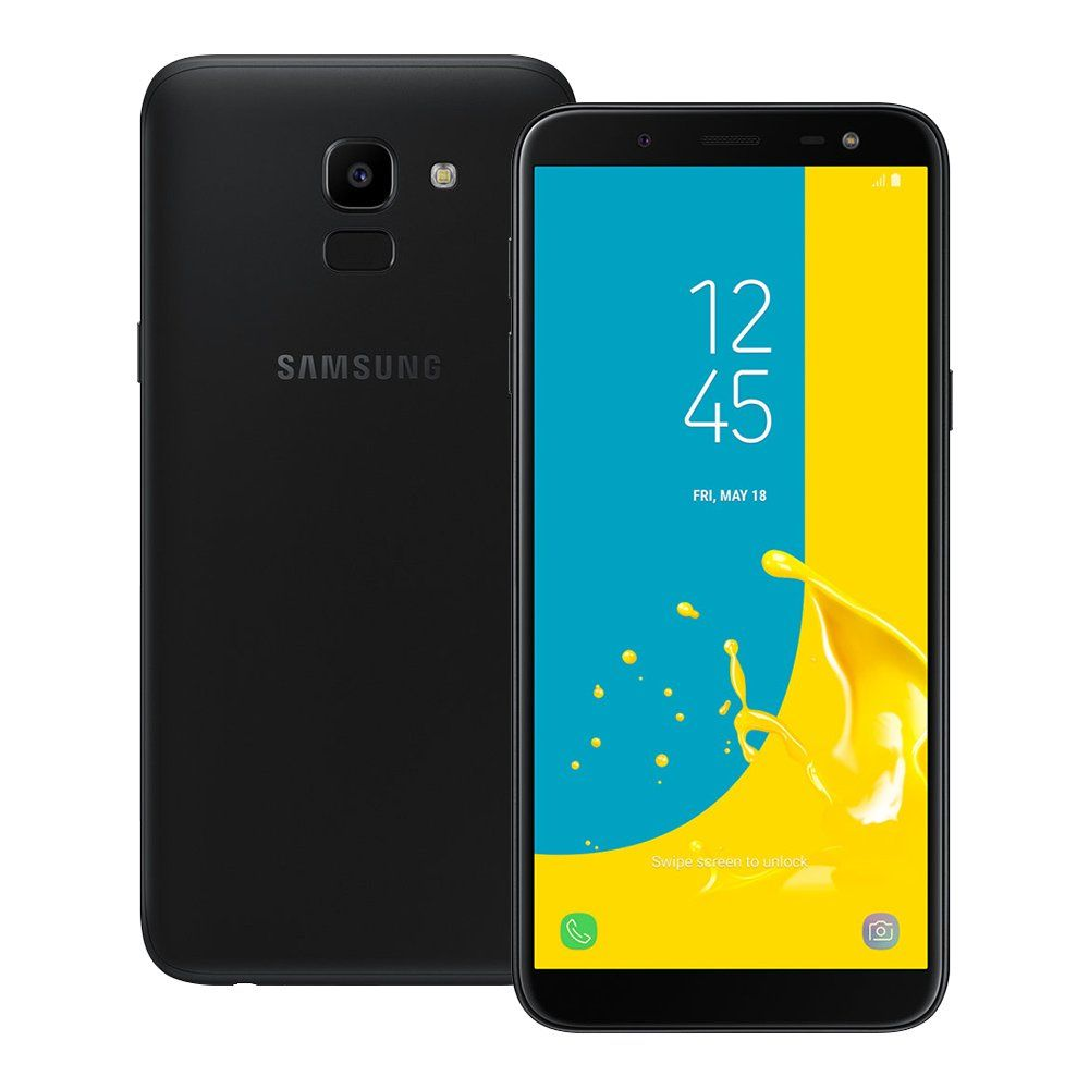 Samsung Galaxy J6 32gb J600g Ds 5 6 18 9 Display Finger Print Sensor Global 4g Lte Dual Sim Samsung Galaxy Samsung Lg Phone