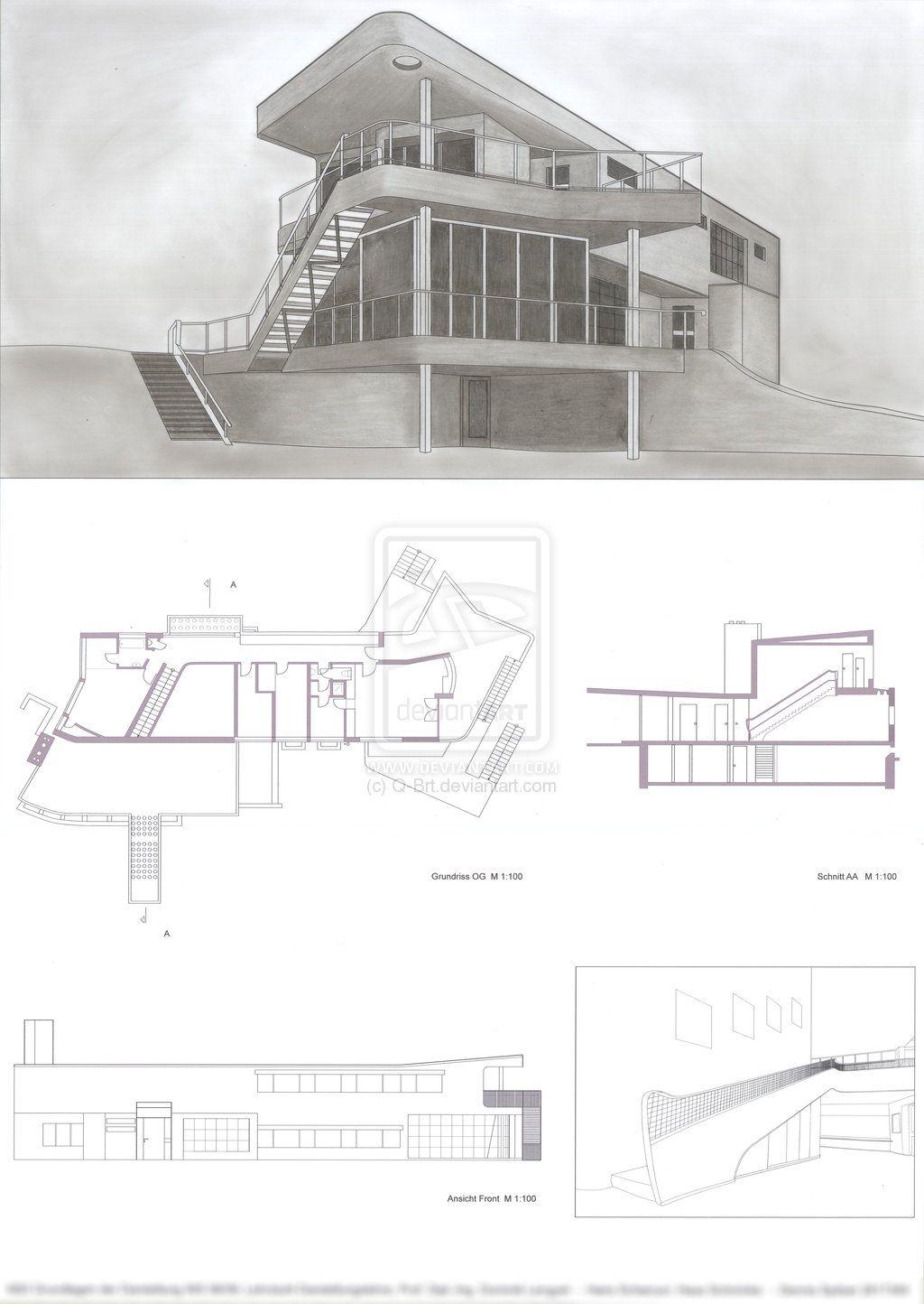 Schminke House - H.Scharoun   ARQ   Pinterest   Schminke, Haus ...
