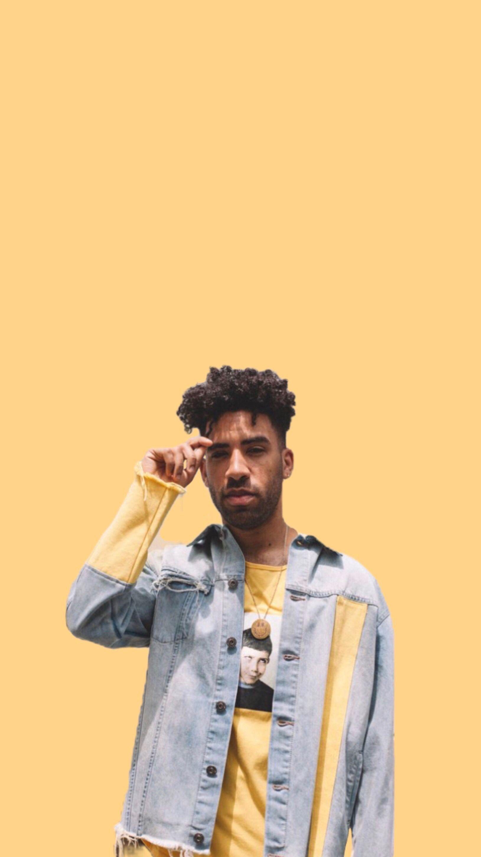 Neon Yellow Aesthetic Rapper