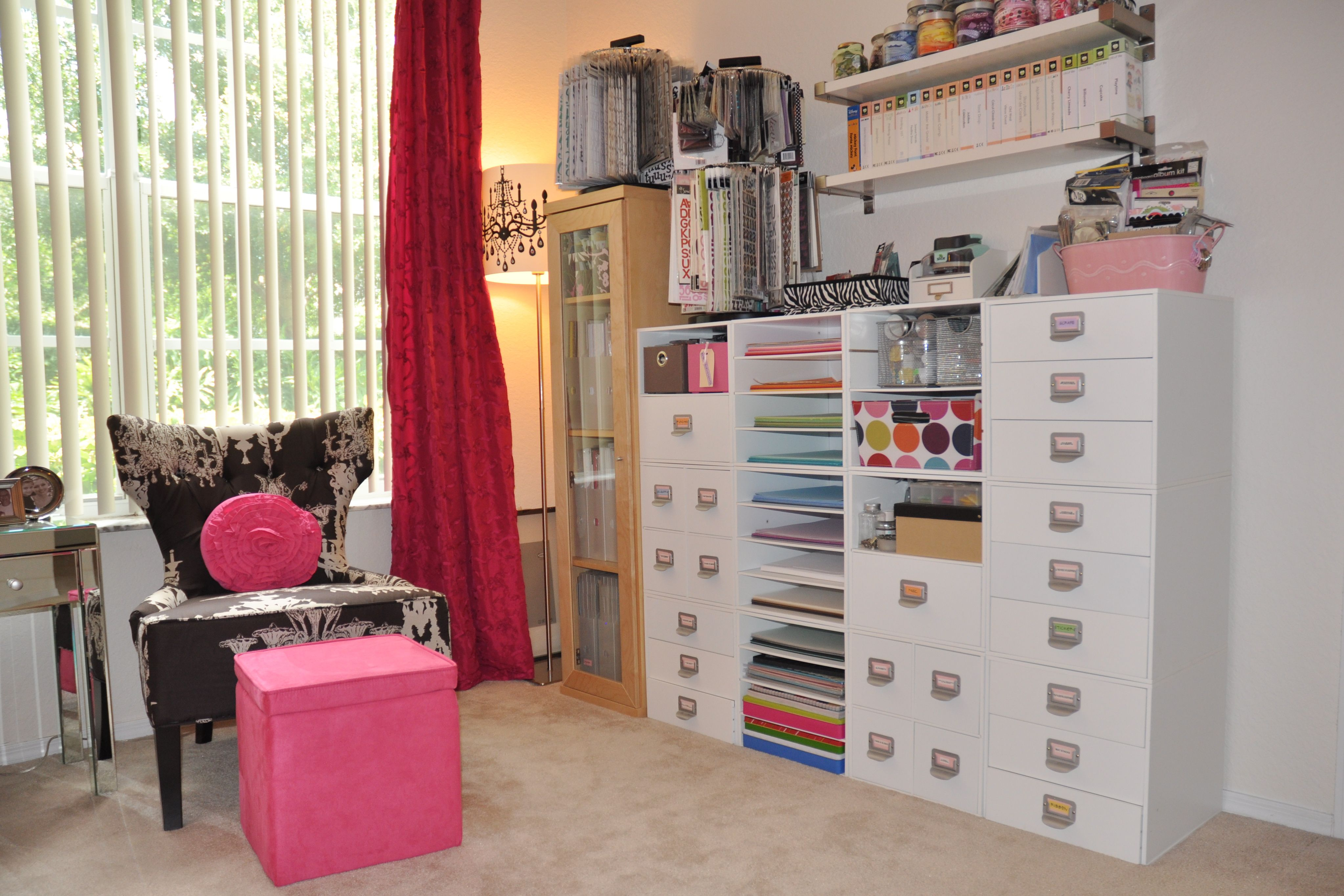 My Scrapbook Room Storage Cubes From Michaels Live It Love It