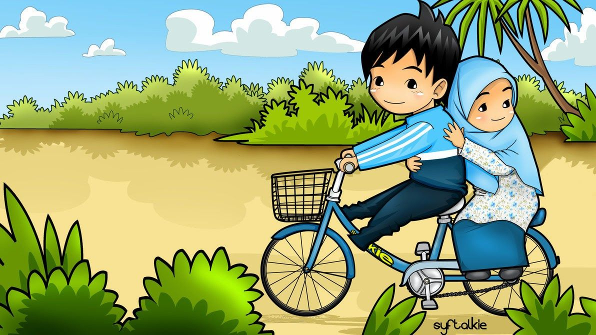 Pin oleh Kelebek 🦋 di Müslüman Kartun, Animasi, Gambar