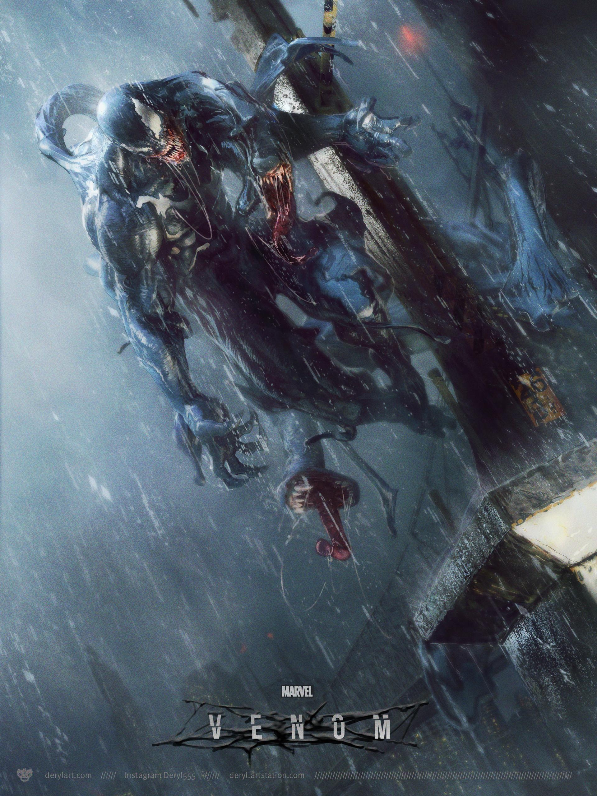 Venom 2018 Hd Wallpaper From Gallsource Com Comics Pinterest