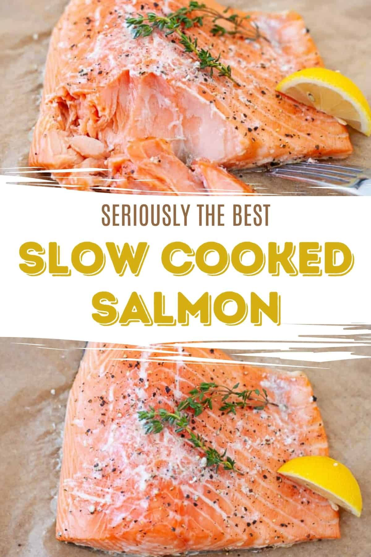 The Best Way To Cook Salmon Recipe Slow Cooked Salmon Salmon Recipes Vegan Recipes Healthy